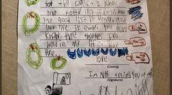 「お前の人生は空っぽだ」6歳の男の子がサンタに書いた辛辣な手紙がすごい