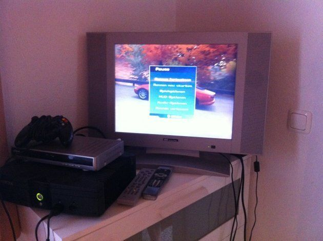 兄弟の部屋には、古いコンピュータ・ゲームもあった。ときどき2人で遊ぶ。