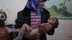 シリアの戦闘激化で支援がストップ、137人の子供たちが生命の危機に