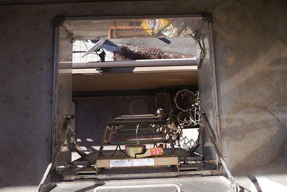 マンションの避難はしごを実際に降りるとどうなのか試してみた