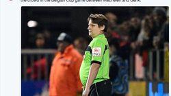 「お客様の中に審判はいませんか」ベルギーのサッカースタジアムで驚きのアナウンス 何があった?