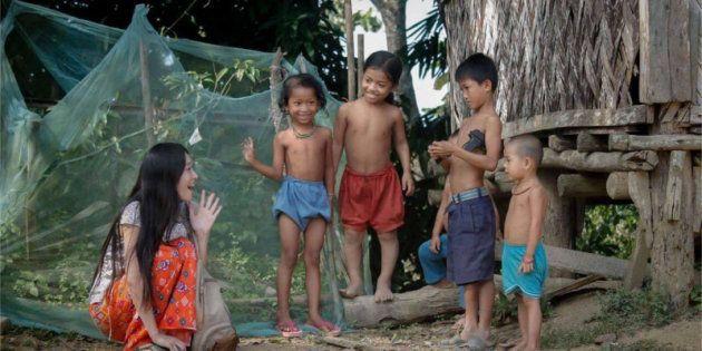 バングラデシュで、私たちが「ピクニックに行こう!」と言えば…আমাদের পাহাড়ে