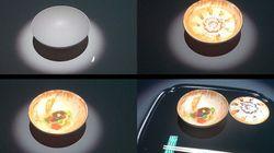 【動画】「食べるアート展」に「食べられない天ぷら」のプロジェクションマッピングが展示