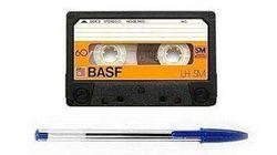【年がバレるテスト】カセットテープとボールペンの関係は?