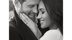 ヘンリー王子と女優メーガン・マークル、婚約写真から伝わる愛♡