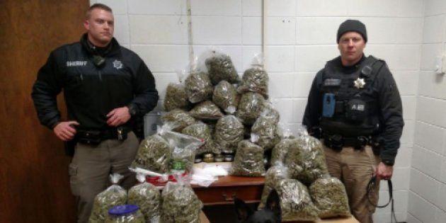 「家族へのクリスマスプレゼントだった…」老夫婦が約3800万円相当のマリファナ所持で逮捕