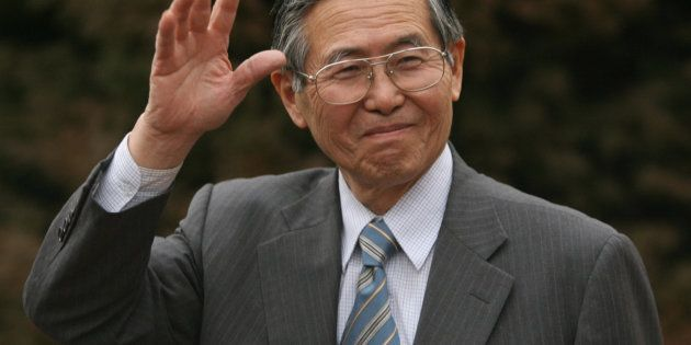 フジモリ元大統領(2006年撮影)