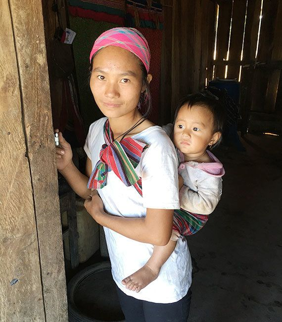 ラオス:安全な出産のため、さまざまな体制づくりに取り組んでいます