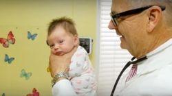 赤ちゃんを数秒でなだめる魔法、ハミルトン博士が教えてくれたよ(動画)