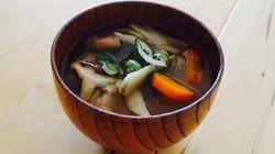 【お手軽和食】みそスープにはレンジで作る「ストック野菜」が便利!