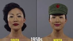 韓国と北朝鮮の美女は100年でこんなに変わった(動画)