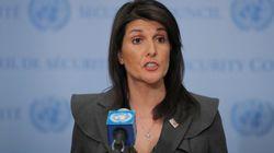 北朝鮮の対話姿勢「非核化するまでは真剣に受け止めない」 アメリカ国連大使が釘を刺す