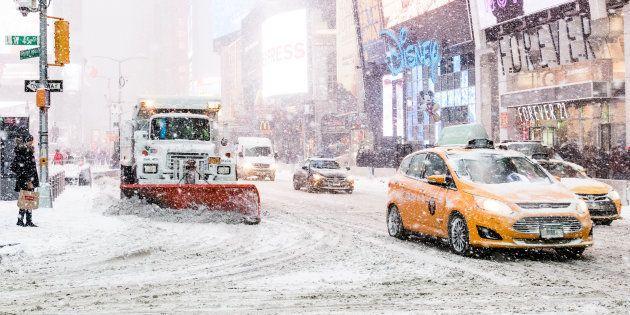 アメリカの大寒波を表した1枚の写真が話題に