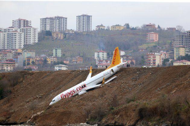 機体は黒海の海面から数メートルの地点で停止したという