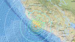 ペルー南部沖でM7.1の地震。落石で1人死亡、少なくとも65人がけが