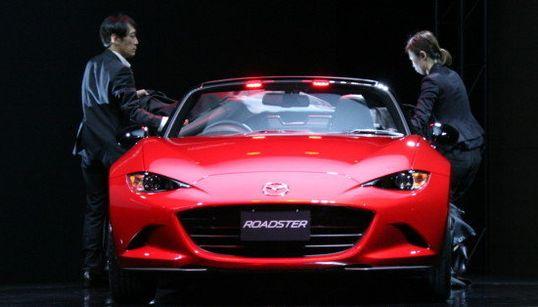 マツダ・ロードスター、5月21日に新型発売 SKYACTIV搭載でクリーンなスポーツカーに(画像集)