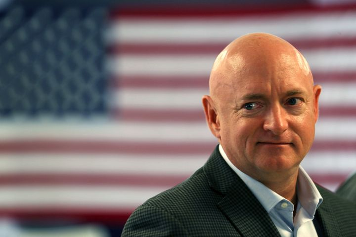 Mark Kelly, a gun control advocate, former astronaut and husband of former Rep. Gabrielle Giffords, will be a top Democratic contender for Arizona's Senate seat.