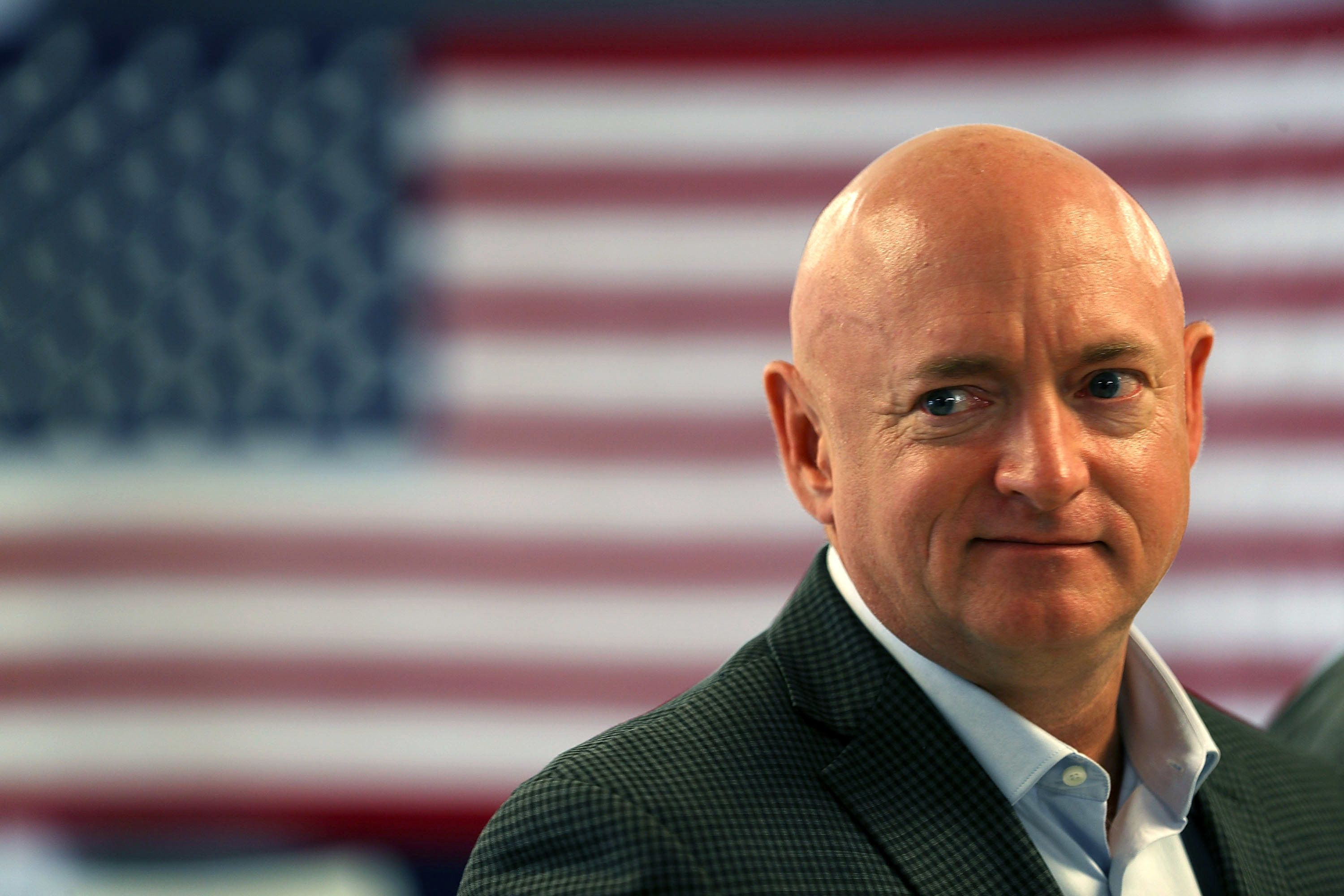 Mark Kelly, a gun control advocate, former astronaut and husband of former Rep. Gabrielle Giffords, will be a top Democratic