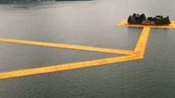 ゆらゆら歩いて島に渡ろう。「浮く橋」で湖上散歩を初体験