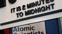 終末時計、残り2分に...「核戦争の脅威への対応に失敗した」