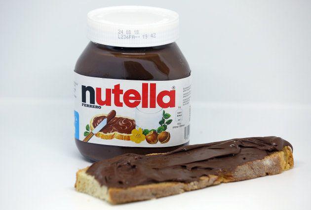 イタリアの食品会社「フェレロ」社のチョコペースト「ヌテラ」