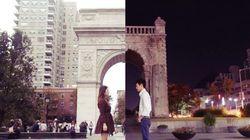 遠距離恋愛の2人は、時差を超え、切ない気持ちを重ね合う(画像)