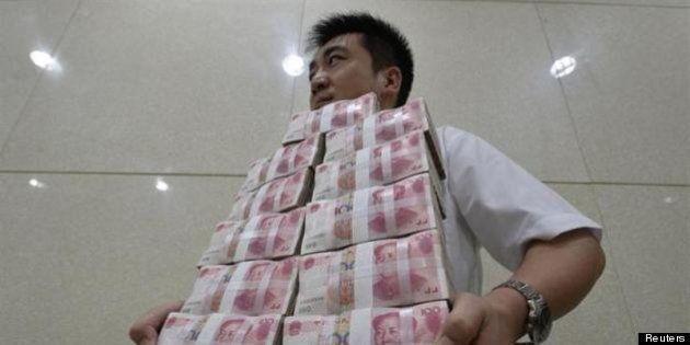 中国経済支える「影の銀行(シャドーバンキング)」