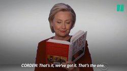 ヒラリー・クリントンがグラミー賞授賞式にサプライズ登場!