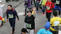 東京マラソン2015、10倍速で走るとこうなる(タイムラプス動画)