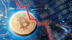 ビットコインも急落、わずか1日で2割減 世界同時株安の影響か