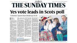 スコットランド、イギリスからの独立賛成派が初めて反対派を上回る