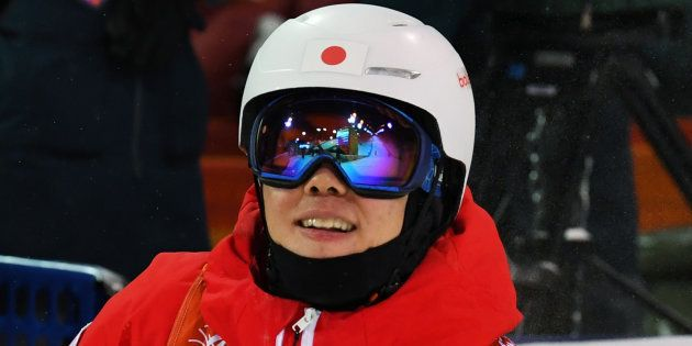 原大智が銅メダル。男子モーグル史上初、平昌オリンピック日本初のメダル