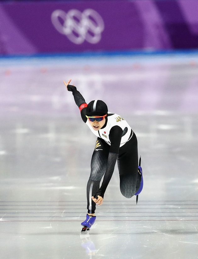 GANGNEUNG, SOUTH KOREA - FEBRUARY 12: Miho Takagi of Japan during the Ladies 1,500m Long Track Speed...