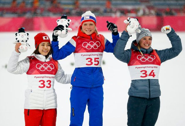 高梨沙羅が銅メダル、目に涙を浮かべながら悔しさ語る「まだ金をとる器ではない」(平昌オリンピック)