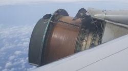 「人生で最も恐ろしいフライトだった」ユナイテッド航空機が飛行中にエンジンカバー外れる(動画)