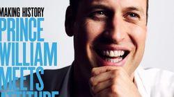 ウィリアム王子、ゲイ雑誌の表紙を飾る