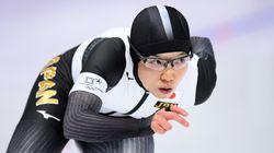 小平奈緒、金メダルの滑り(画像集)