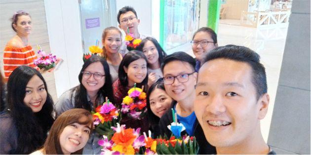 ジブン時間充実!タイ・バンコクで国際色豊かなオフィスで働くつっちーの一日