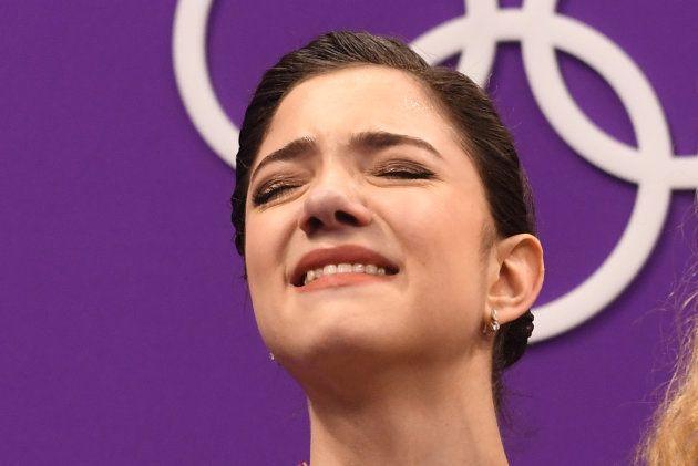 ザギトワが金メダル。女王メドベージェワを下したのは、15歳の天才少女だった(画像集)