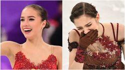 笑顔のザギトワ、涙のメドベージェワ。実はフリーの点数は「全く同じ」だった