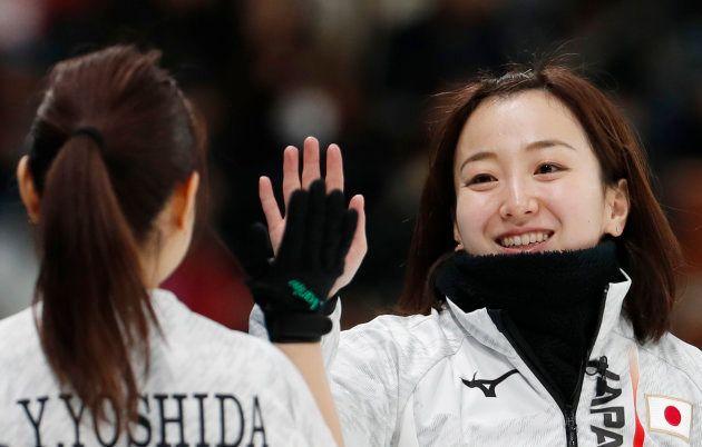 藤沢五月選手。2018年2月17日、韓国・江陵。