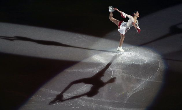 Figure Skating - Pyeongchang 2018 Winter Olympics - Gala Exhibition - Gangneung Ice Arena - Gangneung,...