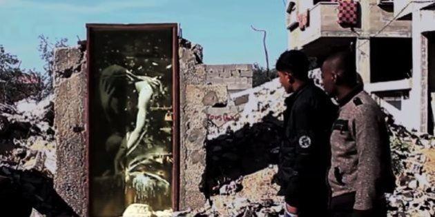 バンクシーはガザで子猫を描いた パレスチナの人々の苦しみを知らせるために【画像】