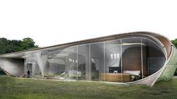 世界初「3Dプリントでつくる家」コンペ最優秀賞はこんな家(画像)