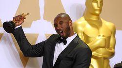 元NBA選手のコービー・ブライアント、アカデミー賞受賞に喜び爆発「NBA優勝よりも気分がいい」