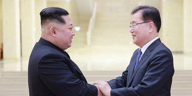 「南北首脳会談」開催で合意 4月末、板門店の韓国側施設で 韓国発表