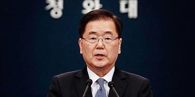 Photo by South Korean Presidential Blue House via Getty