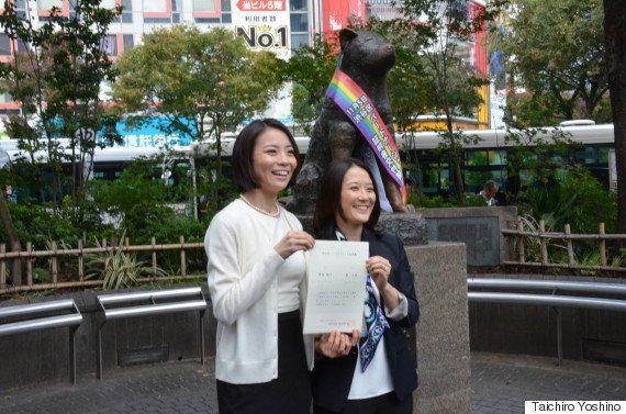 渋谷区、同性カップルにパートナーシップ証明書を初交付