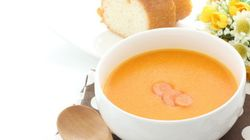 【にんじんの苦手克服法】「ポタージュスープ」にするとおいしく食べられる