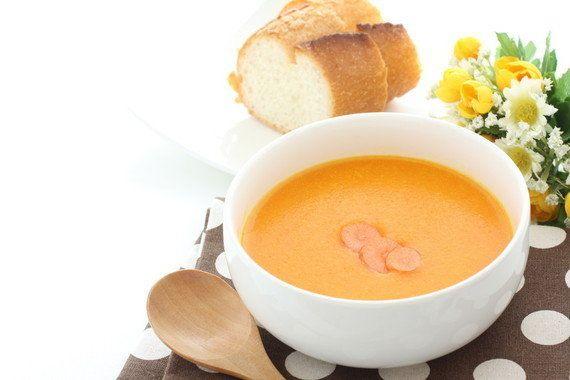 【にんじんの苦手克服法】「ポタージュスープ」にするとおいしく食べられる!